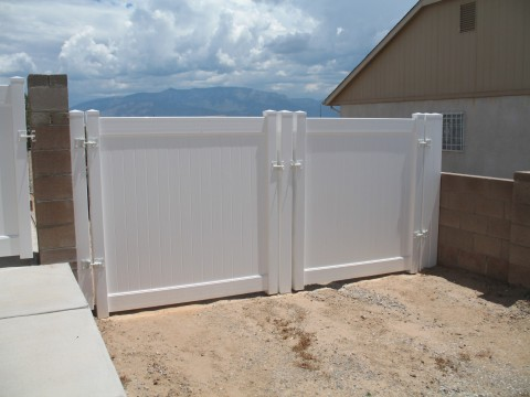 white double gates. Black Bedroom Furniture Sets. Home Design Ideas