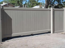 12 foot roll gate